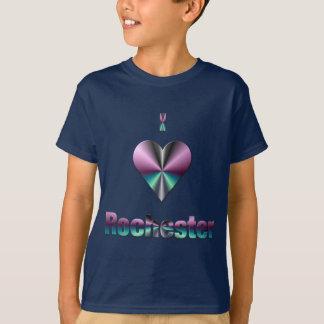 Rochester -- Lila u. Türkis T-Shirt