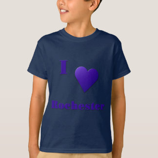 Rochester -- Mitternachtsblau T-Shirt