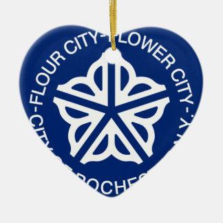 Rochester, New York, Vereinigte Staaten Keramik Ornament