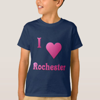 Rochester -- Pink T-Shirt