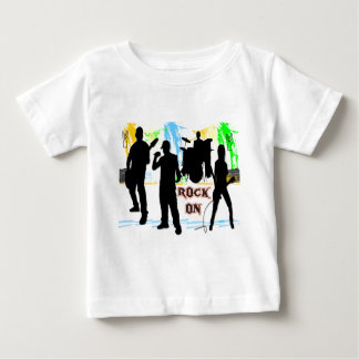 Rock-an - Rock n RollenBand Baby T-shirt