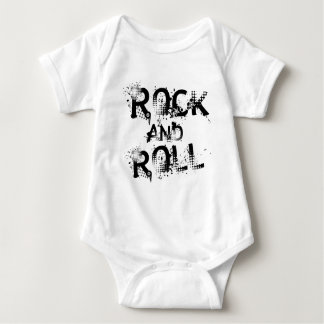 Rock-and-Roll Baby Strampler