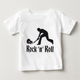 rock and roll baby t-shirt
