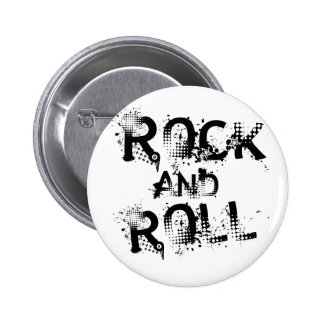 Rock-and-Roll Runder Button 5,7 Cm