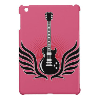 rock and roll electric guitar wings iPad mini hülle