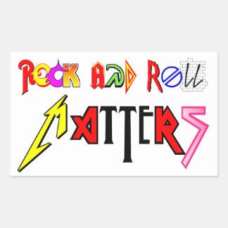 Rock-and-Roll ist Aufkleber von Bedeutung
