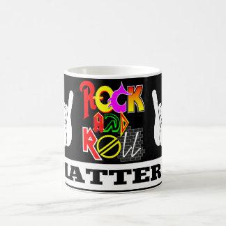 Rock-and-Roll ist Tasse von Bedeutung
