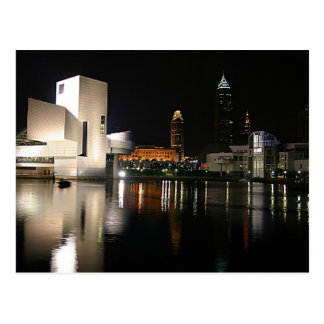 Rock-and-RollHall of Fame Cleveland Ohio Postkarte
