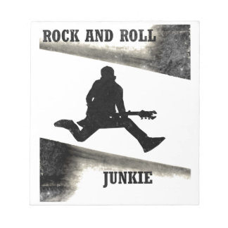 Rock-and-Rolljunkie Notizblock
