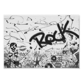 Rock-and-Rollplakat Poster