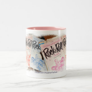 Rock-and-RollTasse Zweifarbige Tasse