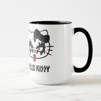 Rock Hello Kissy zerteilt es, Hello Kissy, Coffee Tasse