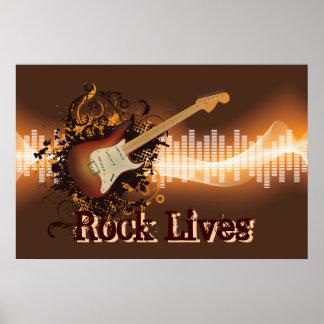 Rock-Leben - Rockmusik Poster