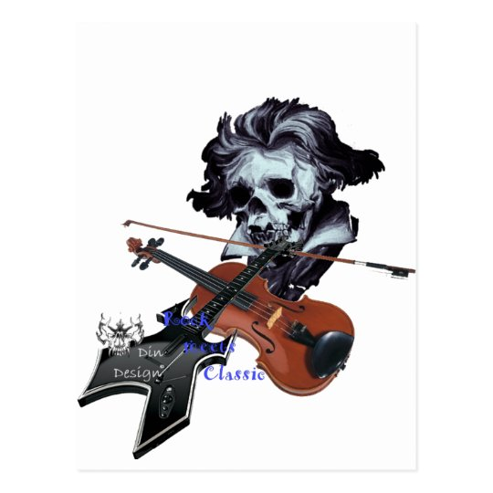 Rock meets Classic Postkarte