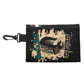 Rock-n-Roll Microphone - green Kulturtasche