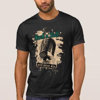 Rock-n-Roll Microphone - green T-Shirt