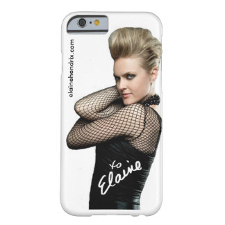 Rock u. Rollenelaine Hendrix iPhone 6 Fall Barely There iPhone 6 Hülle