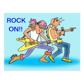 ROCK-U. ROLLENpostkarten FÜR ROCKER Postkarte
