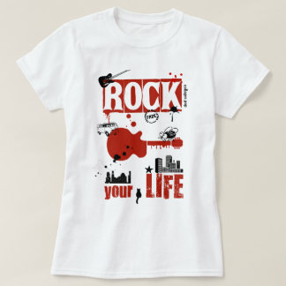 Rock your life - R- ,(Frau) T-Shirt