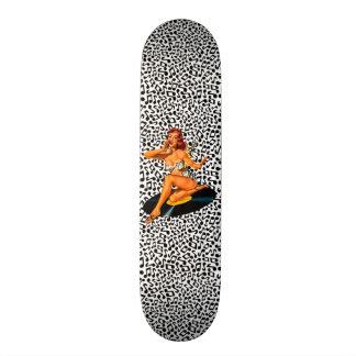 Rockabilly Göttin Individuelle Skateboarddecks