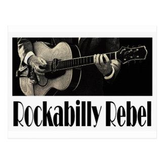Rockabilly Rebellenpostkarte Postkarte