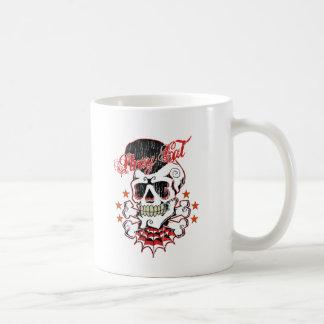 Rockabilly Schädel Kaffeetasse