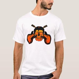 Rockabilly Schädel-Shirt T-Shirt
