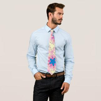 Rockabilly Wolken-Sternfünfziger jahre Krawatte