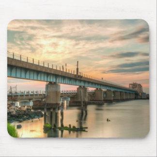 Rockaway Zug-Brücke Mousepad