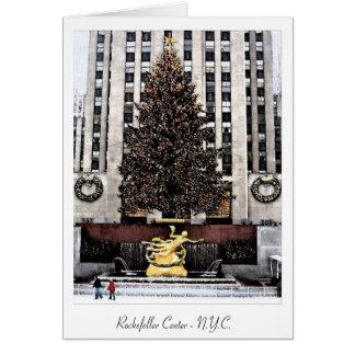 Rockefeller-Mitte - New York City Karte