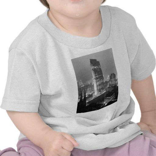 Rockefeller-Mitte und RCA-Gebäude New York City T-shirt