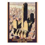 Rockefeller Mittelnew york Postkarte