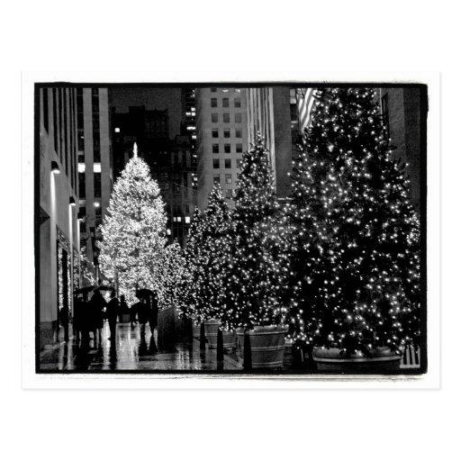 Rockefellermittelweihnachtsbaum-Postkarte
