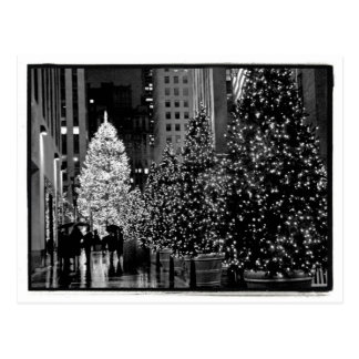 Rockefellermittelweihnachtsbaum-Postkarte Postkarte