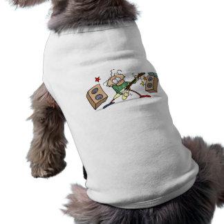 Rocker Ärmelfreies Hunde-Shirt