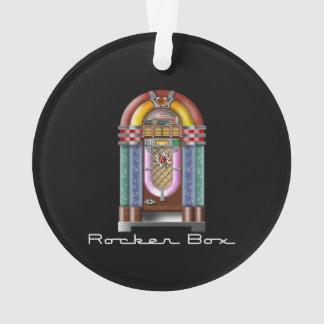 Rocker-Kasten-Musikautomat-Retro Felsen Ornament