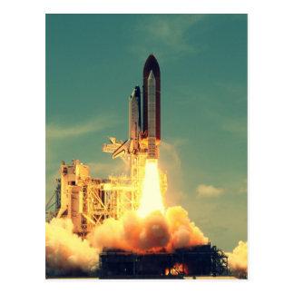 Rocket-Produkteinführung Postkarte