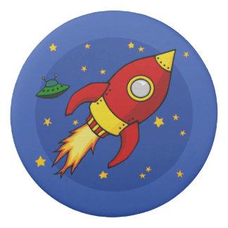 Rocket-Rot Radiergummi Radiergummis 0