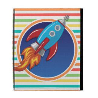 Rocket-Schiff Helle Regenbogen-Streifen