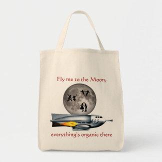 Rocket-Schiffs-Lebensmittelgeschäft-Tasche Tragetasche