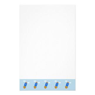 Rocket-Zeichnen Briefpapier