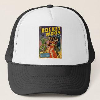 Rocket zum Mond-Comic Truckerkappe
