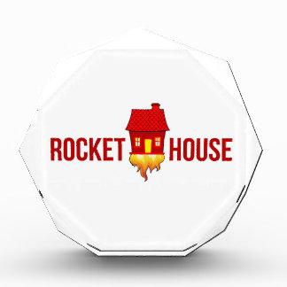 RocketHouse Logo T Acryl Auszeichnung