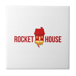 RocketHouse Logo T Fliese