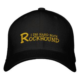 """Rockhound """"ich grabe Hardrock-"""" gestickte Kappe"""