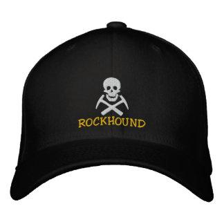 Rockhound Schädel und Kreuz-Auswahl gestickte Bestickte Kappe