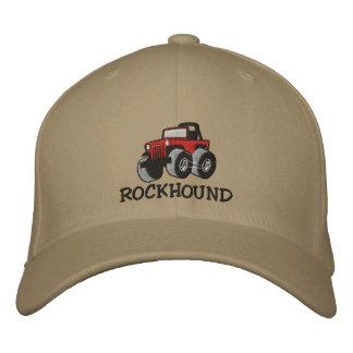 Rockhound weg von Straße gestickter Kappe