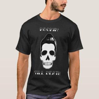 Rockin bebauen Todesschädel T-Shirt