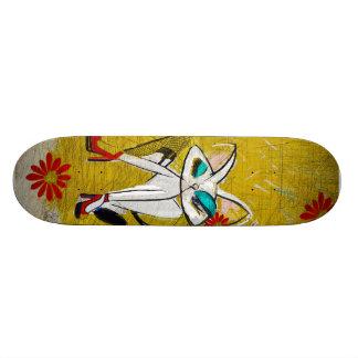 Rockin die Gänseblümchen-Herzöge: Mitte des Individuelle Skateboards