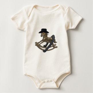 RockingHorseCowboyHatHorseShoe122312 copy.png Baby Strampler